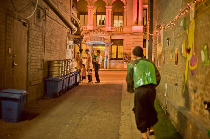 Our magical laneway... 181 George Street.