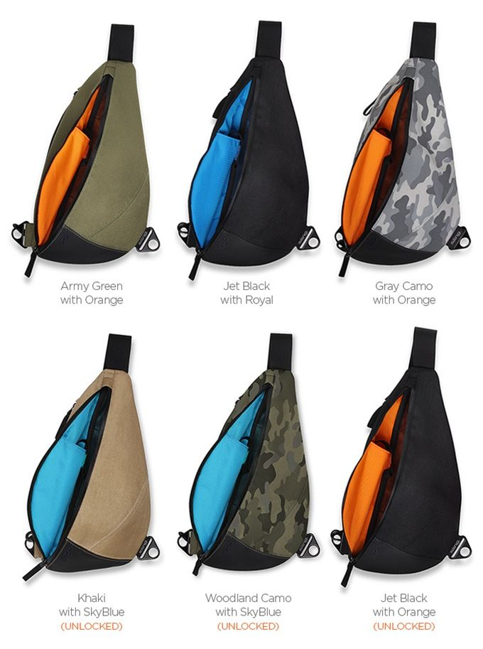 The Everyday Adventure Bag - KP Sling by Keep Pursuing ...