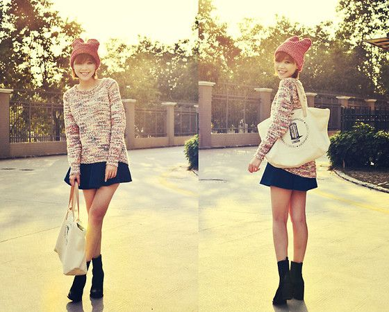 I'm not a rabbit (by MAGIC  YANG) http://lookbook.nu/look/4452607-I-m-not-a-rabbit