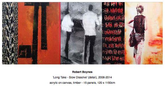 Robert Boynes exhibiting at Art Stage Singapore 2015