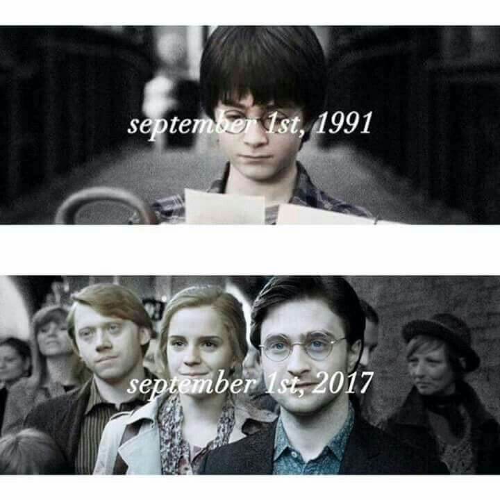 This September, Albus Severus starts at Hogwarts!!! All IS well. ❤❤❤❤