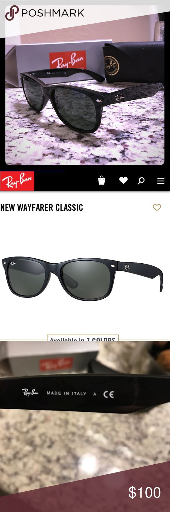 do ray ban prescription glasses come with a case  ray ban wayfarer sunglasses never worn. these were a present that sadly do not fit