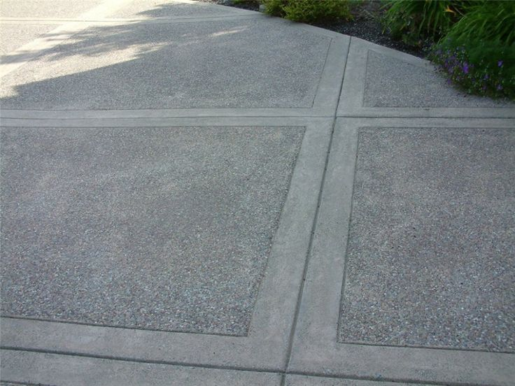 Exposed Aggregate Concrete Tooled Edge