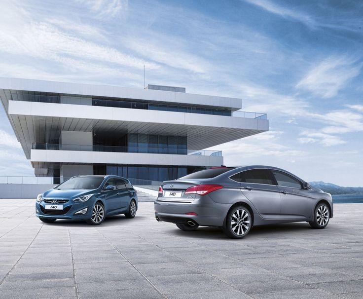 Bracia Przyszłości ! Hyundai i40 sedan oraz i40 kombi ! Moc wyobraźni !