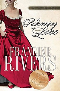 Redeeming Love - Francine Rivers One of my favourite books of ALL time! Such an incredible love story between a man and a woman and the love God has for us <3