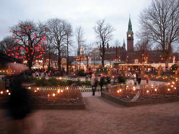Copenhague: le plus beau marché de Noël où je suis allée.