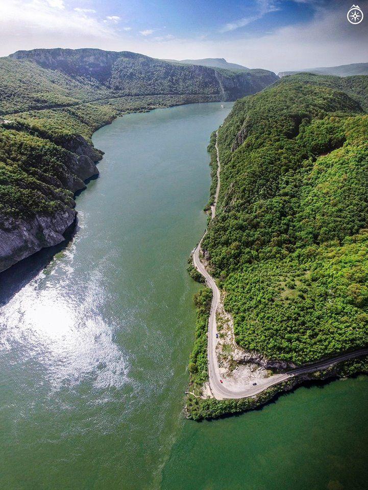 Danube River - Cazanele Dunarii Romania #romania #beautifulromania #traveleurope #places_wow #placestovisit #placestogo #placestogothingstodo #travelinspiration #favouriteplacesspaces #amazingplaces #traveldestinations #aroundtheworld #wanderlust #voyage