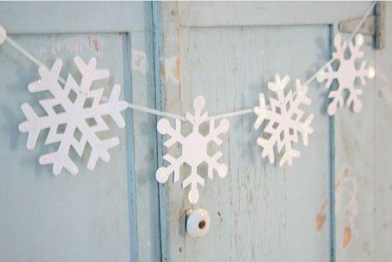 sneeuwvlok slinger - snowflakes