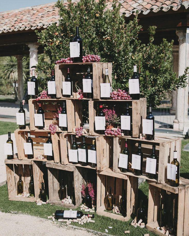 320 best images about mariage on pinterest mesas - Decoracion de bodegas ...