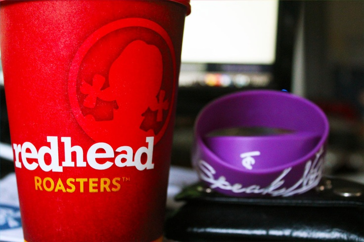 I love redheads so much, even my coffee is a redhead! >:p ~Free coffee before 8 AM at Wendy's, tee-hee! =<3=
