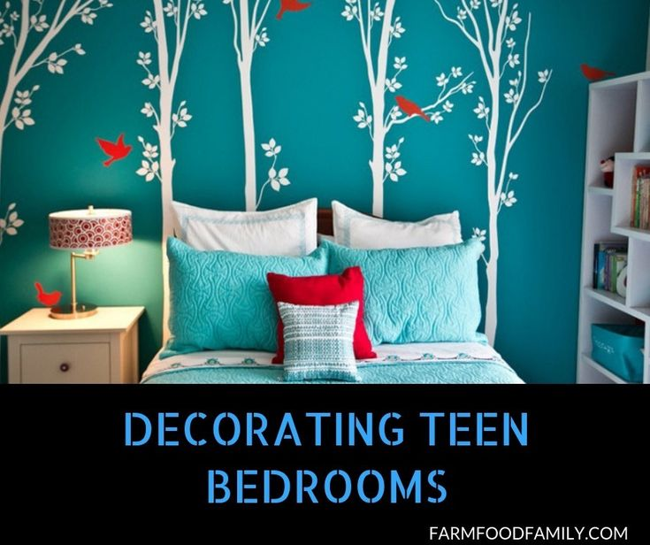 37+ Cool Bedroom Decorating Ideas For Teens – FarmFoodFamily