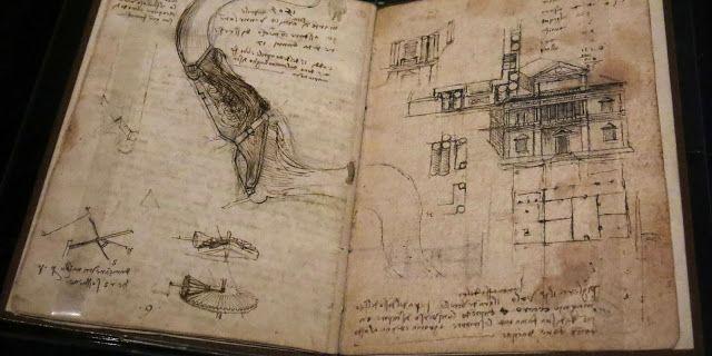 """++ Torna in Italia il """"Codex Leicester"""" di Leonardo Da Vinci! Bill Gates lo presta agli Uffizi. Il Blog di Fabrizio Falconi: ++ Torna in Italia il """"Codex Leicester"""" di Leonard..."""