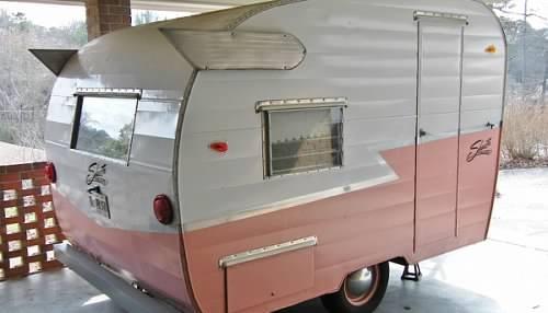 63 Shasta Compact for sale- vintage camper trailers