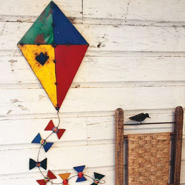 Now this is an interesting #MakarSankranti themed decor idea! for your terrace