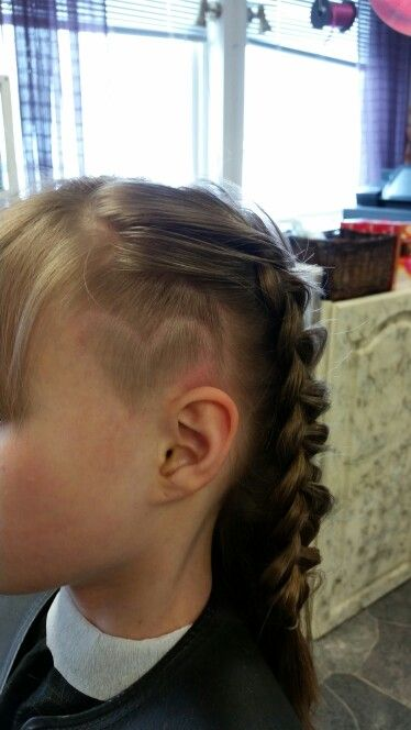 Undercut heart design