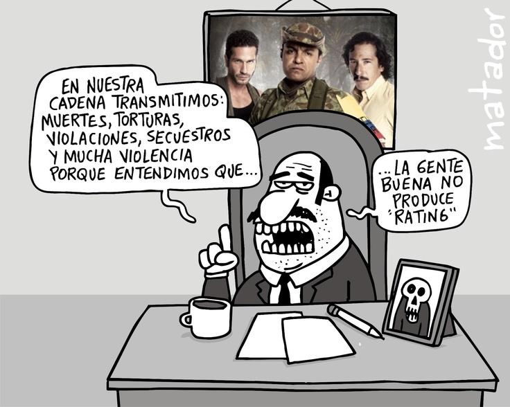 matador cartoons: Malos T.V.