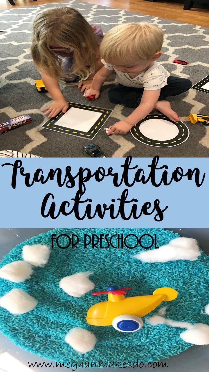 preschool activites/ transportation activites for preschool/ activities for kids transportation unit for preschool/ preschool unit/ complete transportation unit for preschool/ preschool activities