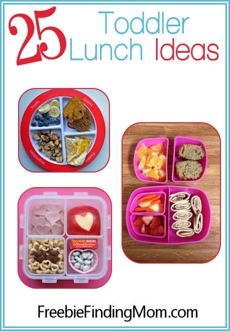 25 Toddler Lunch Ideas