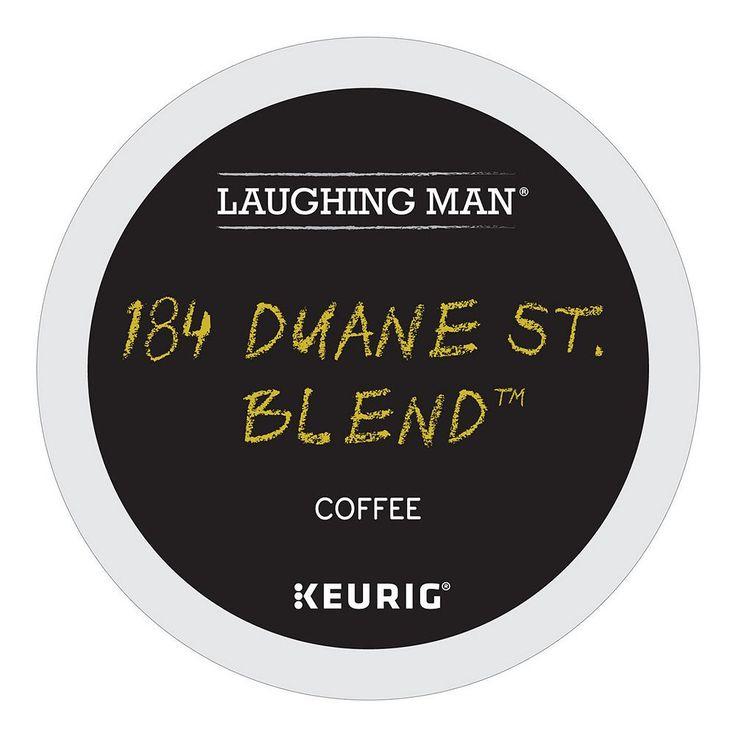 Laughing Man Coffee Keurig K-Cups, 184 Duane St. Blend
