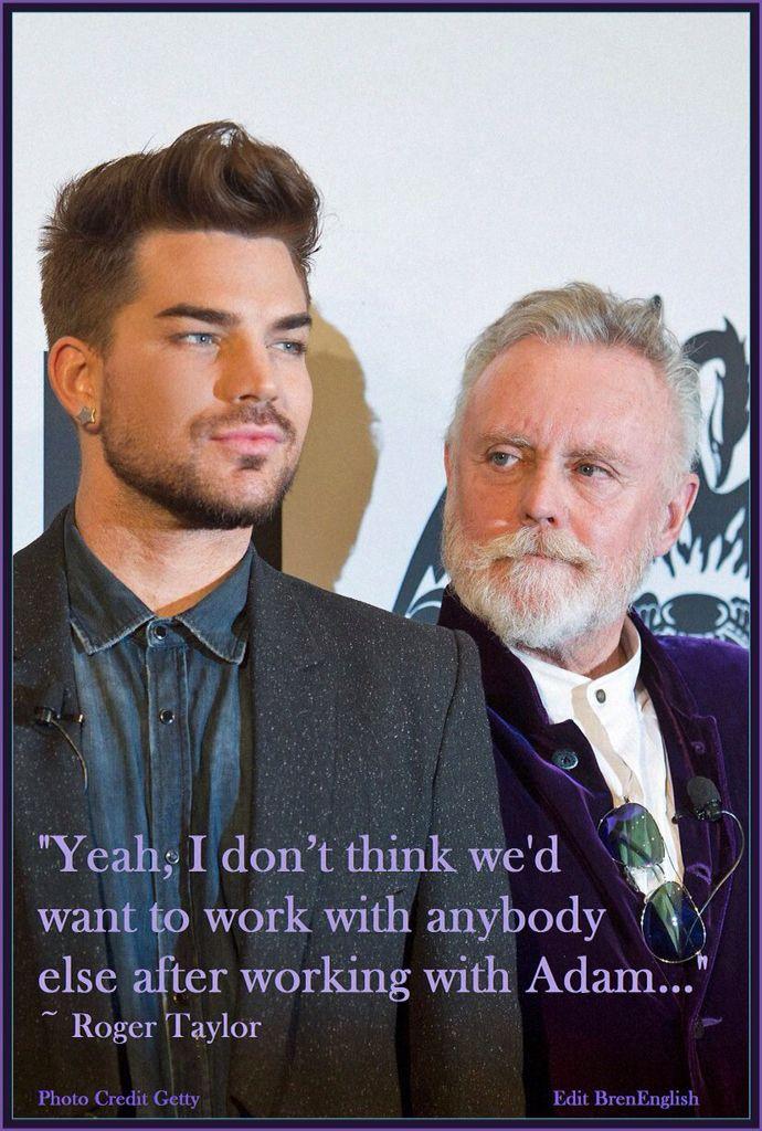 Adam Lambert and Roger Taylor #love