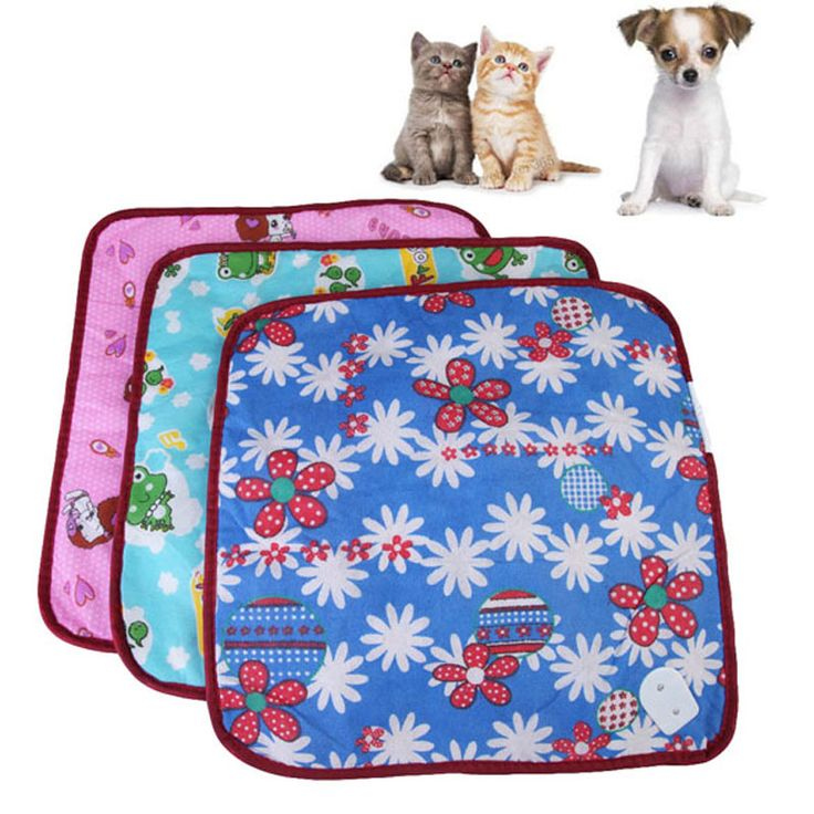1 PC High Quality Pet Puppy Kitten Electric Heat Pad Dog Cat Bunny Heater Mat Blanket Bed 18W 220V~50HZ 40*40cm Color in random [Affiliate]