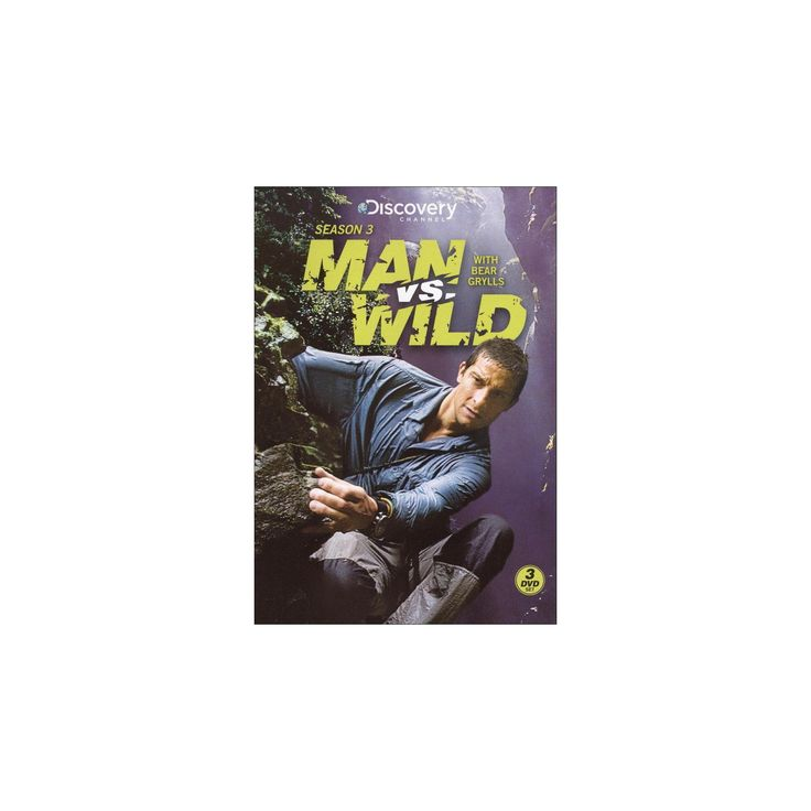 Man vs. Wild: Season 3 [3 Discs]