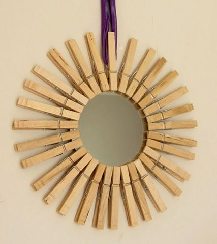 DIY with clothes pins