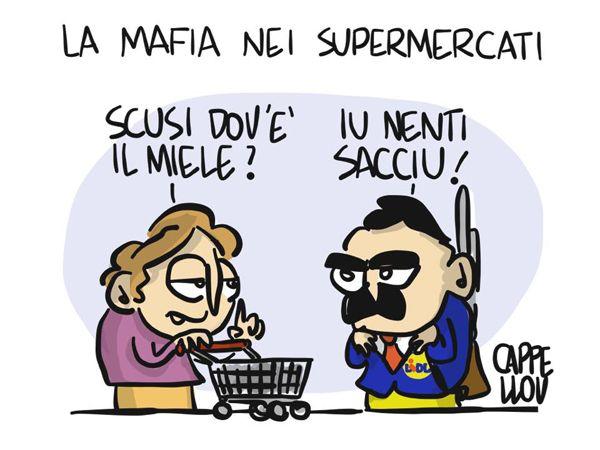 La #mafia è entrata nei #supermercati... #Lidl #Milano