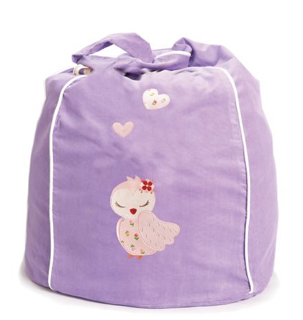 Divine Dreamy Owl now available in Lavender! We love her :) http://www.cocooncouture.com/product/dreamy-owl-bean-bag/