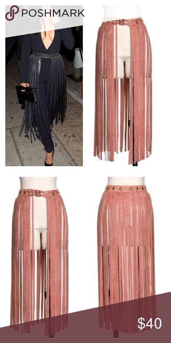 25+ best ideas about Fringe Skirt on Pinterest