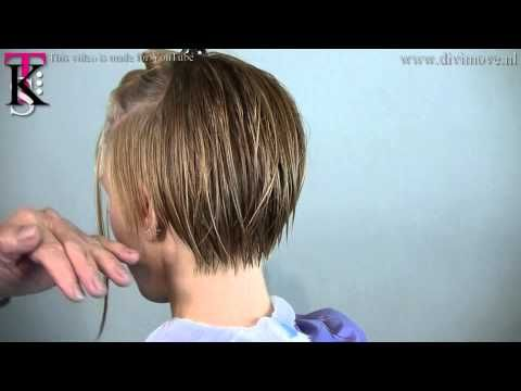 Asymmetric and sexy platinum blonde!!! That's *KIKI* by T.K.S. - YouTube