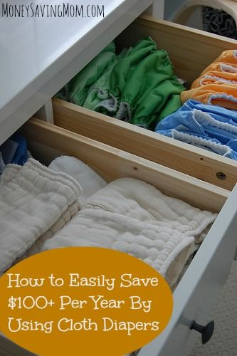 How to easily save hundreds per year by using cloth diapers (and some links for how to get started cloth diapering for less than twenty dollars!)