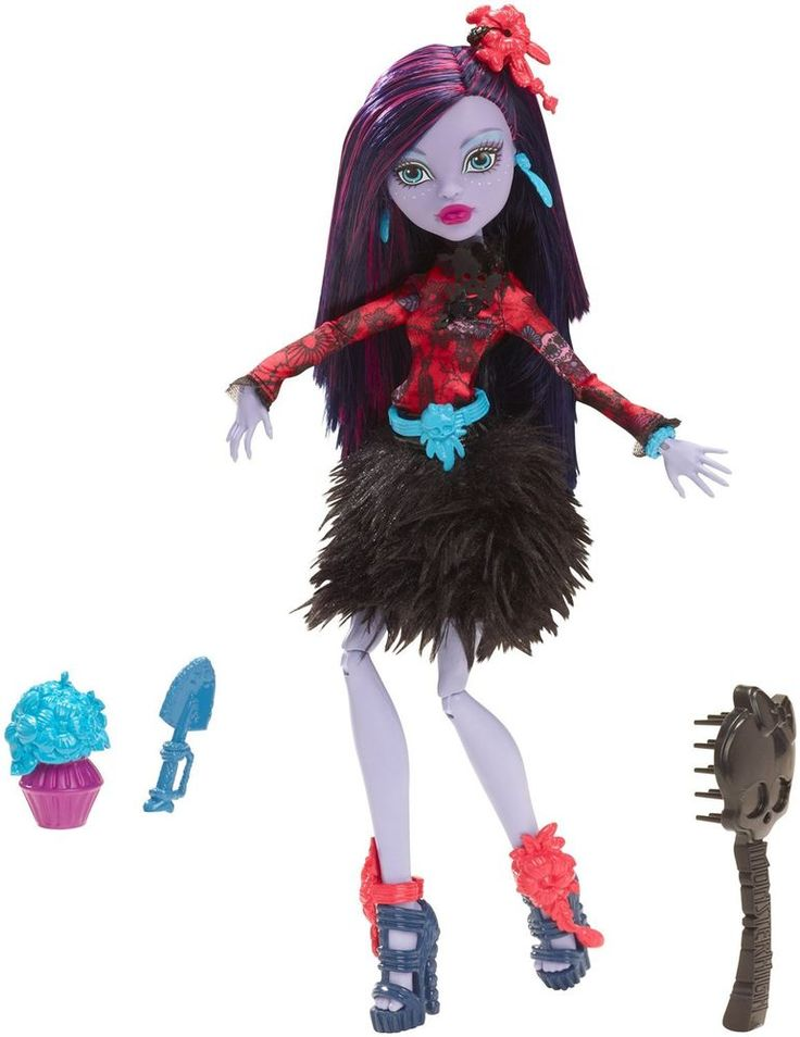 Monster High Gloom and Bloom Jane Boolittle  Doll NEW In Hand Just Released