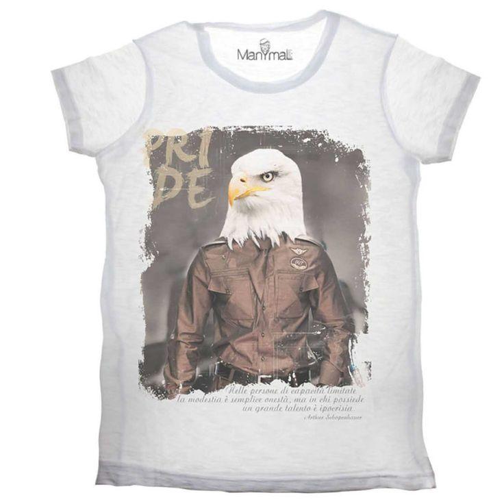 T-shirt Aquila tee Available on www.manymaltshirt...