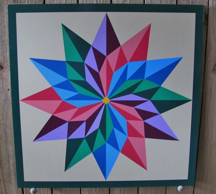 barn quilt patterns | Custom Made Pinwheel Barn Quilt 24 X 24 Inch by Remillard Signs ...