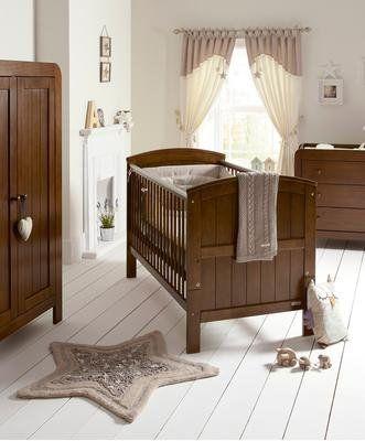 Mamas & Papas Hayworth 3 Piece Nursery Furniture Set in Walnut £775  http://www.cruxbaby.co.uk/shop/affordable-furniture-sets/mamas-papas-hayworth-3-piece-set-walnut/