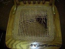 how to fix a sheet cane chair seat.  I really need to fix our rocker!Broken, Replacement, Canes Seats, Chair Seat Weaving, Canes Chairs, Spline, Chairs Seats, Repair Installations Canes, Chairs Canes