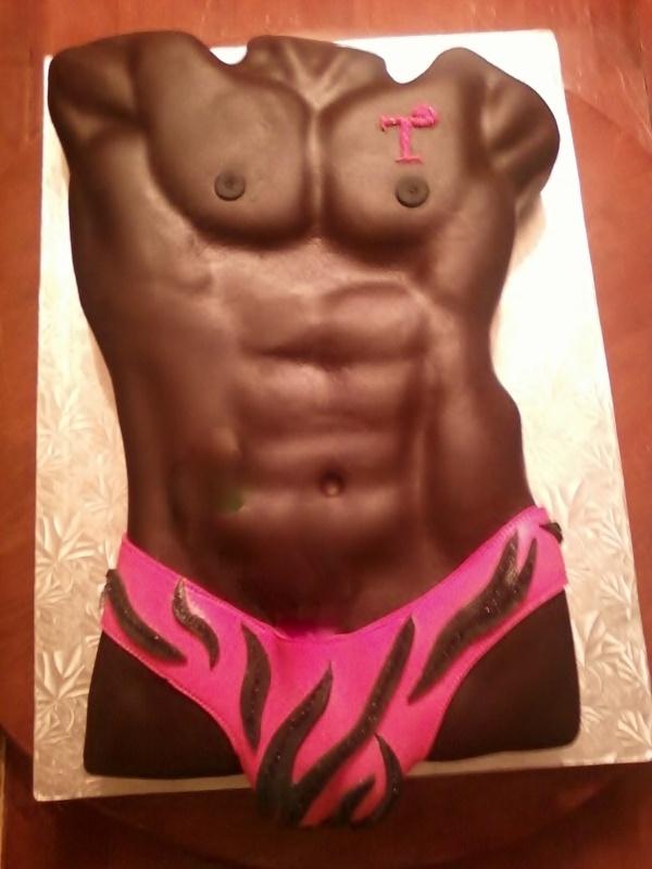 Mr Stripper Cake  (Edited)