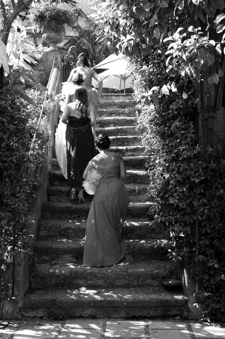 #Positano #Wedding, Amalfi Coast Wedding - Bridal Party @ Palazzo Murat
