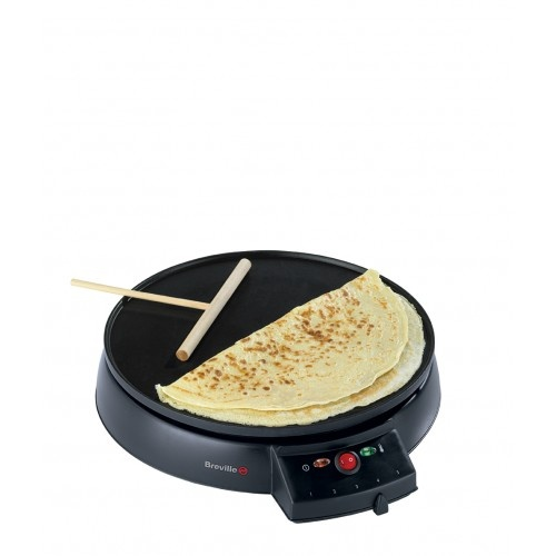 The Breville Crepe Maker isn't just for Pancake Day.... With it, you can make French Crepes, Indian Poodas, Russian Blinis, Omlettes and Tortillas.