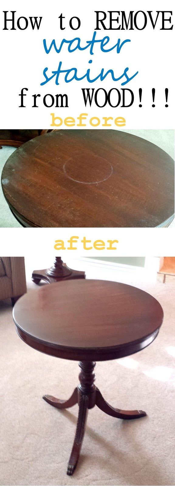 how how to remove water stains. Best 25  Remove water rings ideas only on Pinterest   Water rings