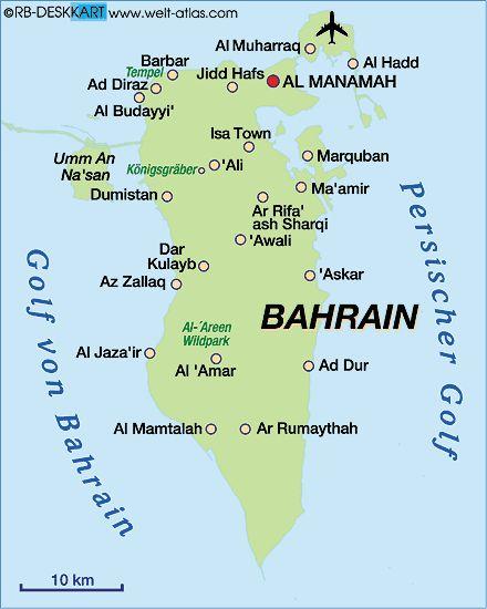bahrain karte im Bahrain Reiseführer http://www.abenteurer.net/3397-bahrain-reisefuehrer/