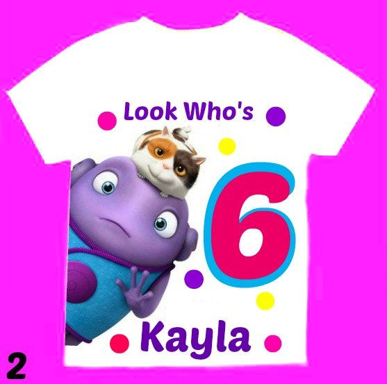 Personalized Oh - Home the movie T shirts 1st 2nd 3rd 4th 5th 6th Personalization is included at no additional cost.