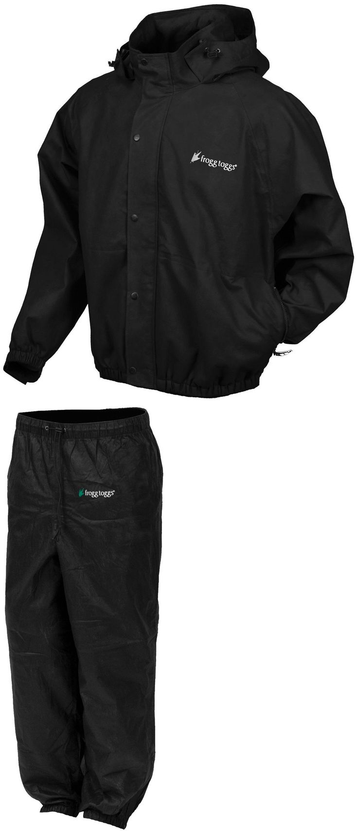 Other Golf Clothing 158939: Frogg Toggs Pro-Action Pa-102 Rain Gear Suit Golf Boating Fishing Hiking Games -> BUY IT NOW ONLY: $54.95 on eBay!