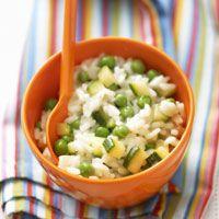 Découvrez la recette Risotto printanier sur cuisineactuelle.fr.