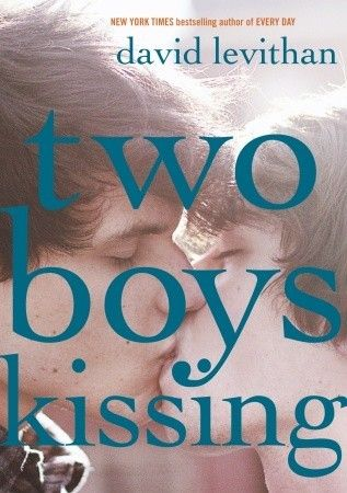"""Two boys kissing"", by David Levithan - challenged because of its cover image of two boys kissing, and because it was considered to include sexually explicit content."