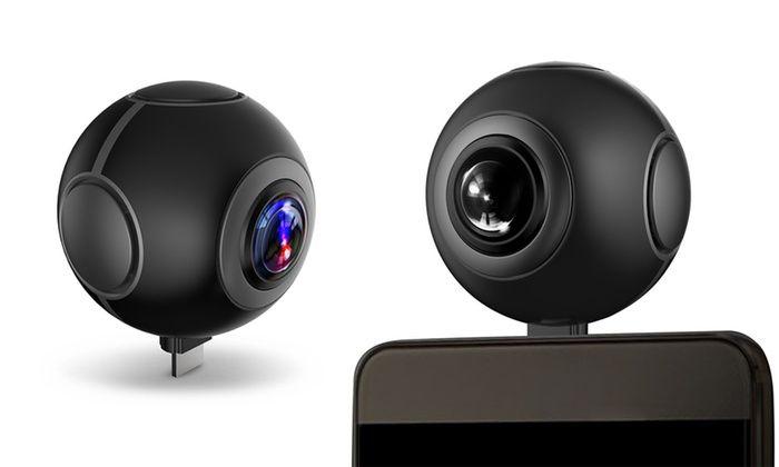 Groupon - Kocaso Dual Lens 720 Degree Real-Time Panorama Camera. Groupon deal price: $64.99