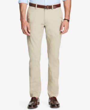 Polo Ralph Lauren Men's Slim-Fit Chino Pants - Light Beige 32x34