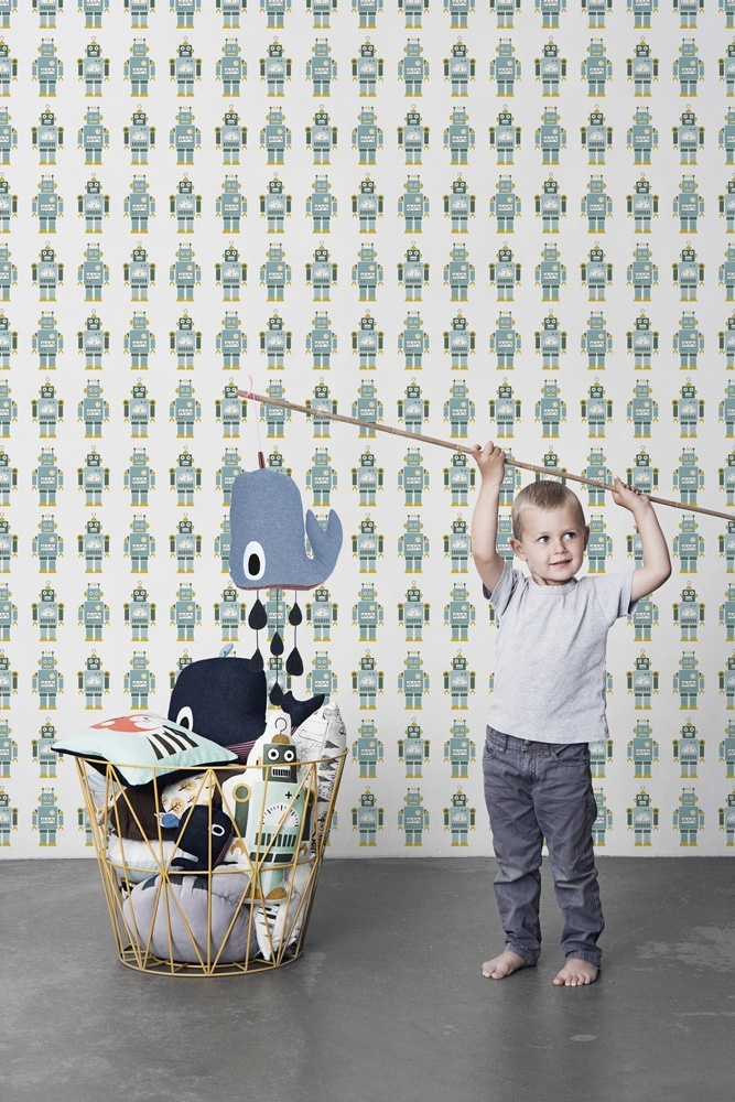 Whale Mobil from ferm LIVING. #kids