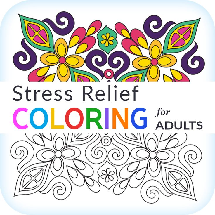 Stress Relief Coloring App For Adults Relieves Anxiety Stressrelief Coloringbook Download From Apple